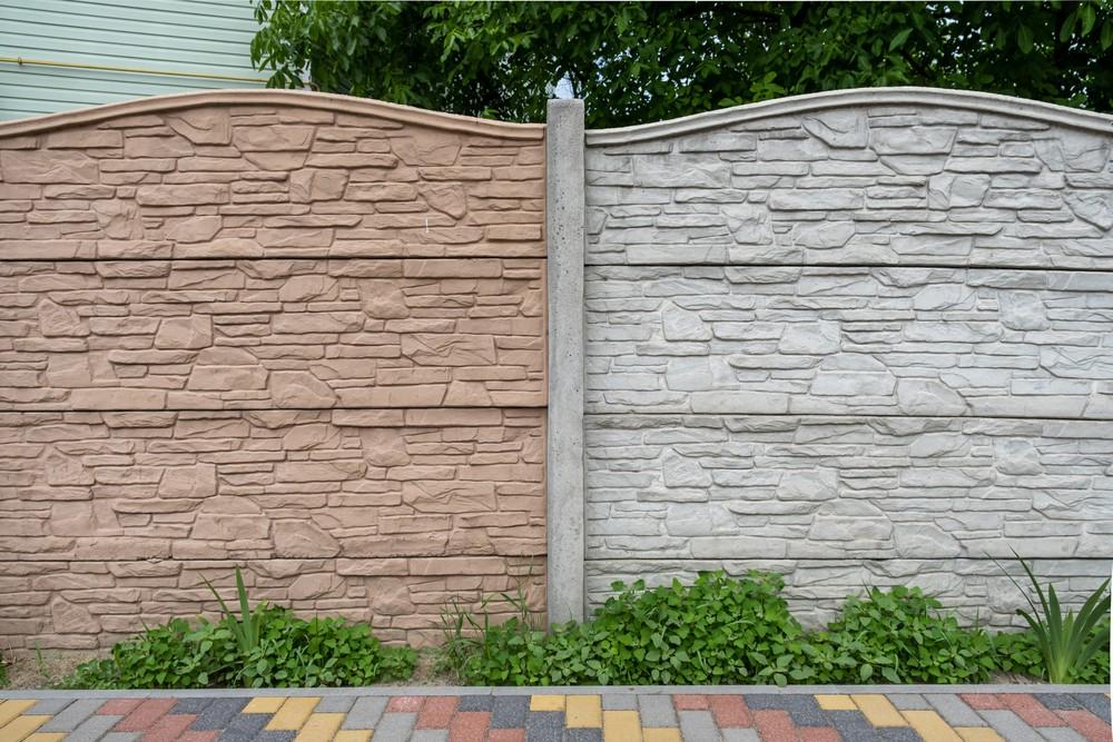 Ogrodzenie systemowe betonowe