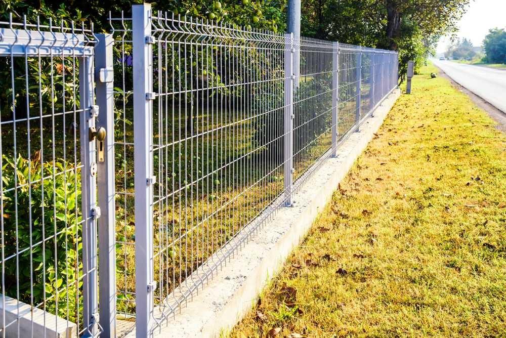 Furtka i ogrodzenie panelowe