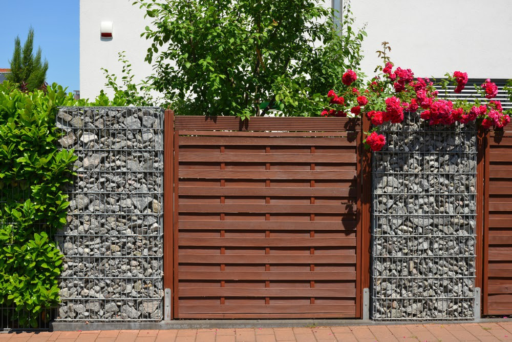 Ogrodzenie gabionowe - nowoczesne ogrodzenie o stylowym wyglądzie