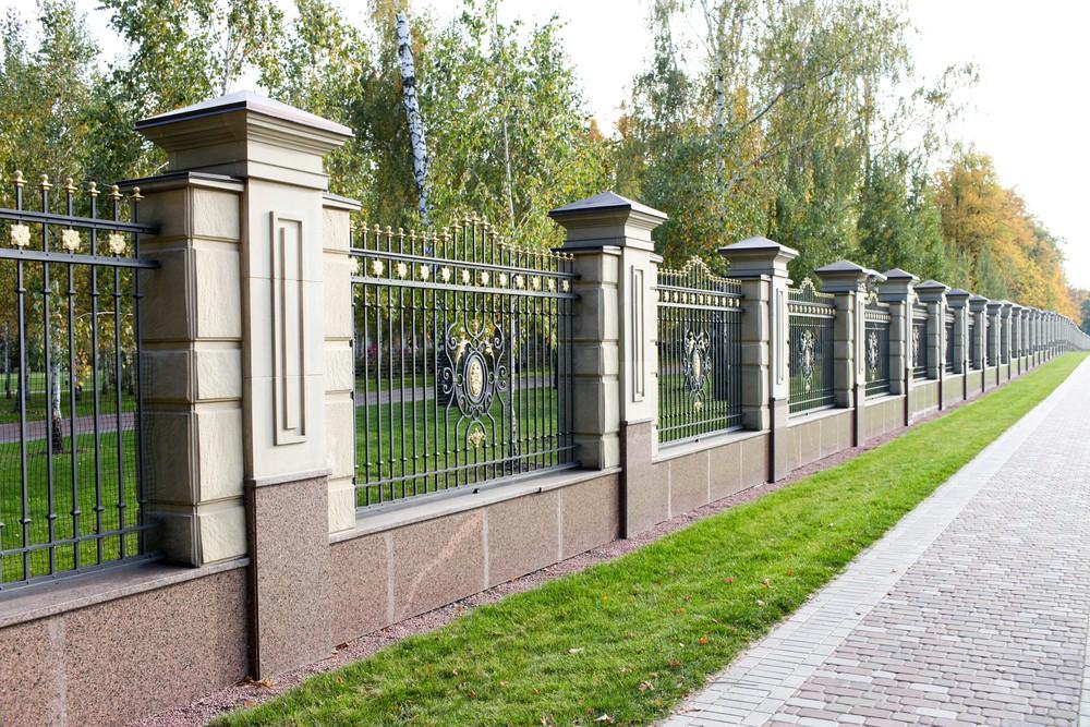 Ogrodzenie metalowe kute - Betto.pl